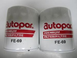 71-82 Jeep 225 232 258 304 360 401 Oil Filter NOS Pair FE69