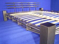 DESIGNER BETT Metallbett Stahlbett Eisenbett alpha II 180x200 NEUWARE