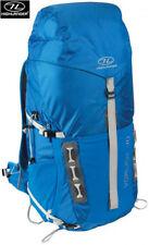 Camping Hiking Rucksack Travel Shoulder Backpack Day Pack Back 40L + Rain Cover