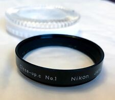 Vintage Nikon 52mm Close up.c Attachment Lens No.01