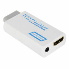 Wii to HDMI Wii2HDMI Convertisseur Adaptateur Full HD 1080 Console Nintendo Wii