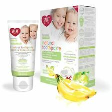 SPLAT Baby 0-3 Apple & Banana Toothpaste With Silicon Fingerbrush - 40ml