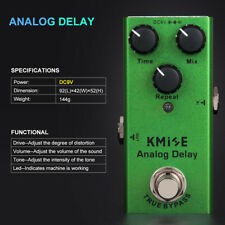 Analog Delay Mini Single Guitar Effects Pedals True Bypass for Electric Guitar