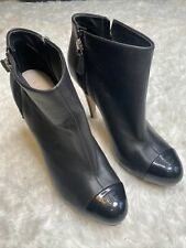 Chanel Boots Black Uk6.5 39.5