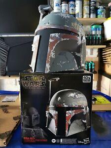 STAR WARS Boba Fett Black Series Helmet