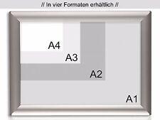 Wechselrahmen Werberahmen Alu Klapprahmen Plakatrahmen DIN A4 | Toppreis