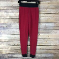 Cuddl Duds Womens Leggings Cotton Knit Climate Right Long Underwear Layer Small