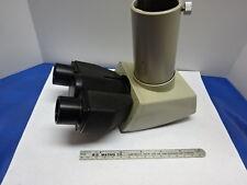 Microscopio Parte Nikon Japan Cabeza Trinocular Óptica como &83-25