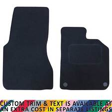 For Smart For Two Coupe MK3 2015+ Fully Tailored 2 Piece Car Mat Set 2 Clips