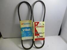 4L340 V-Belt Various Brands Lot of 2