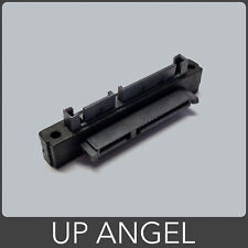 90 Degree UP Angle SATA Male to Female Adapter 22 Pin (7+15)