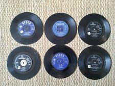 """7"""" Vinyl records, Rolling Stones, Beatles, Cliff Richard, Cilla Black JOB LOT"""