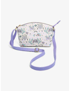 Disney Alice In Wonderland Pastel Map Crossbody Bag by Loungefly - New, With Tag