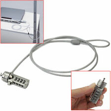 Laptop 4 DIGIT Password Computer Anti-theft Notebook Lock Security Chain Cable