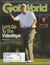 Stewart Cink Signed 2004 Golf World Full Magazine
