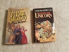 Lot Of 2 Anne McCaffrey Science Fiction Books