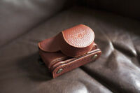 Genuine Real Leather Full Camera Case Bag Cover for FUJIFILM X100F Bottom Open