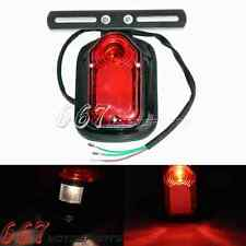 Motorcycle Tombstone LED Tail Light Taillight Ideal For Harley Softail Black Hot
