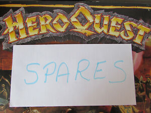 1989 MB GAMES HEROQUEST FANTASY BOARD GAME SPARE/REPLACEMENT PARTS