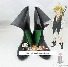 The Seven Deadly Sins Dragon's Sin of Wrath Meliodas Boot Shoes Cosplay Boots