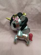 "NO BOX Tokidoki Unicorno 2017 SDCC Metallico SAKURA 2.5"" Vinyl Figure"