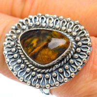 Large Golden Pietersite 925 Sterling Silver Ring Size 9 Ana Co Jewelry R44969F