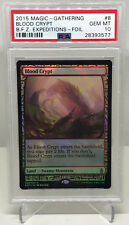 MTG Magic the Gathering BLOOD CRYPT Holo Foil Zendikar Expeditions PSA 10 GEM