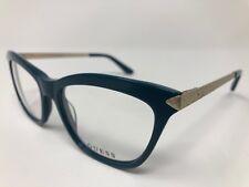 GUESS Eyeglasses GU2655 084 Shiny Light Blue 53/17/135 Flex Hinge Cat Eye CT77