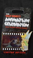 Disney Animation Celebration - Peter Pan Tinker Bell Lenticular Pin Le 750