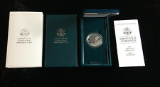 US Mint 1991 Korean War Memorial Proof Silver Dollar With Boxes & COA