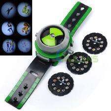 Ben 10 Omnitrix Projector Watch Bracelet Disc Alien Force Kids Children Toy Gift