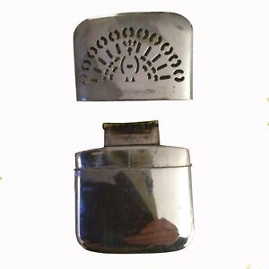Mikado Vintage Handwarmer Made in Occupied Japan Antique Silver Color