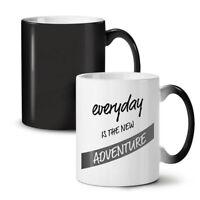 Everyday Adventure NEW Colour Changing Tea Coffee Mug 11 oz   Wellcoda
