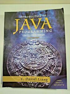 Intro to Java Programming Comprehensive Version 10th Edition Y. Daniel Liang