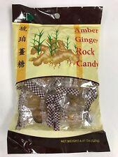 Amber Ginger Rock Candy 4.41oz - GT