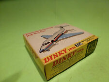 DINKY TOYS 723 HAWKER SIDDELEY HS 125 EXECUTIVE JET - RARE SELTEN - GOOD IN BOX