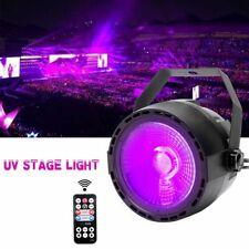 Schwarzlicht UV DMX Strahler COB LED DJ Bühnenlicht Xmas Halloween Glow Party