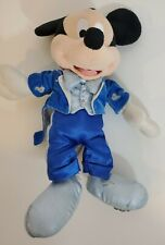 Walt Disney World Dream Friends Mickey Mouse Blue Tuxedo Plush