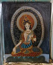 "Tableau/Painting ""Buddha"" 50x65 cm"