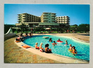 GREECE VINTAGE  POSTCARD CRETE ISLAND - MALEME- CHANDRIS HOTEL