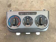 FIAT GRANDE PUNTO HEATER CONTROLS GREY (AIR-CON TYPE) 7354198040 (2006-2010)
