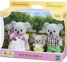 Sylvanian Families KOALA Family FS-15 Epoch Japan Figure New