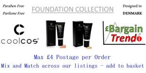 Cool Cos Denmark Paraben Parfum Free Make Up FOUNDATION Collection #BargainTrend
