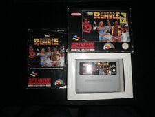 Super Nintendo, Snes - wwf royal rumble - 100% complete