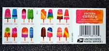 2018USA Forever Frozen Treats - Booklet of 20 Mint (scratch & sniff popsickles)