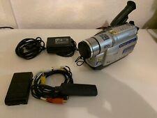 JVC GR-FXM-37E VHS-C Videocamera Camcorder