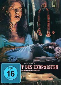 Paul Naschy - Die Nacht des Exorzisten - Blu-ray DVD - Mediabook Cover A NEU OVP
