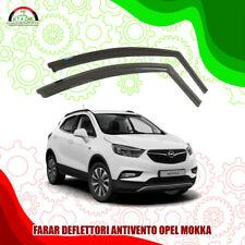 dal 2013 Kit 4 Deflettori Aria Antivento Farad Anteriori//Posteriori Opel Mokka 5 p