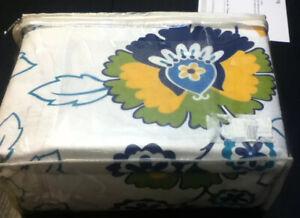 Tribeca Living Floral Printed Deeper Pocket Flannel Twin Sheet Set,