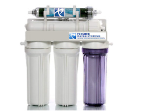 Aquarium Reef Reverse Osmosis 100 GPD   5 Stage RO/DI System   HAND MADE IN USA
